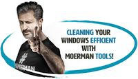Cleaning your windows efficiently with Moerman tools